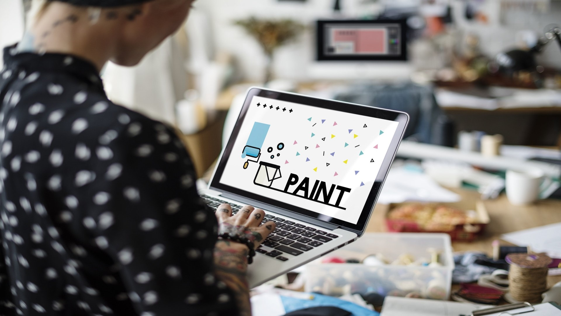 The paint is a part of your Brand Identity.