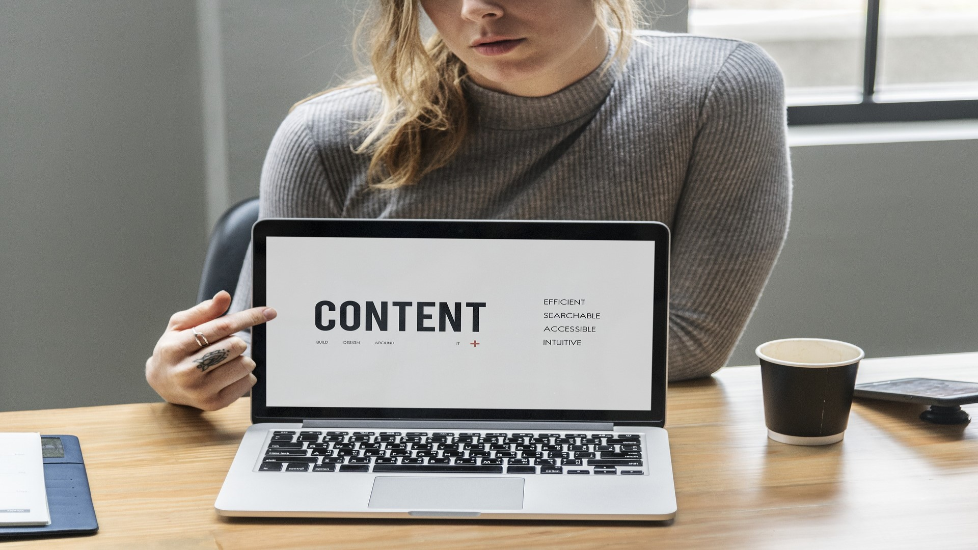 Content can help to a better online reputation.