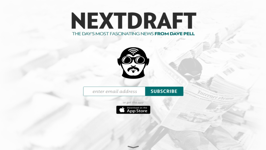 inspiration for your digital marketing on nextdraft.